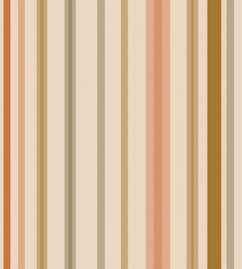 brown orange stripes