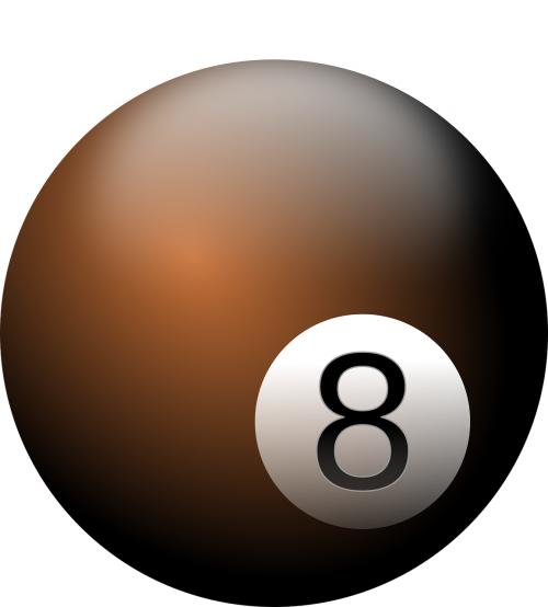 eight ball billiard billiard ball