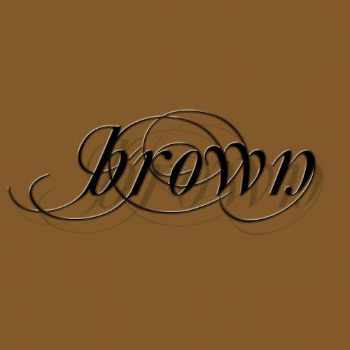 brown tile aesthetics