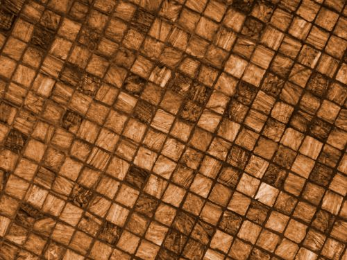 Brown Abstract Squares Background