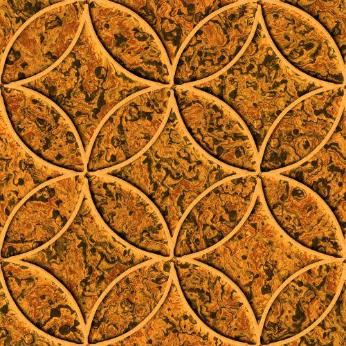 Brown Byzantine Tiles