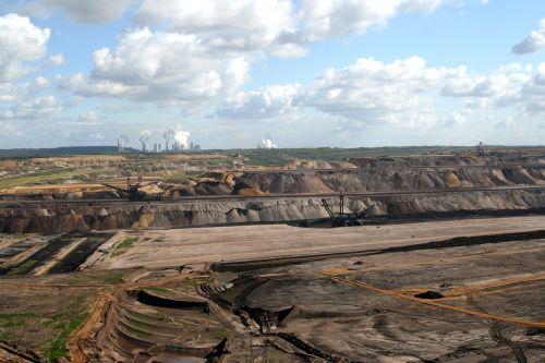 brown coal mining open pit mining coal mining