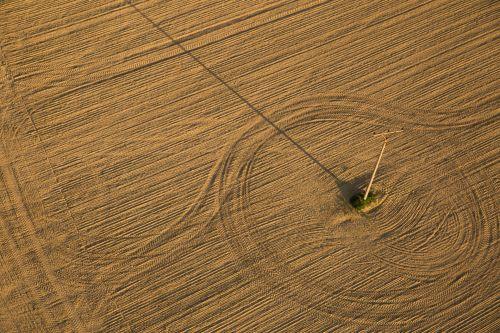 Brown Soil Field