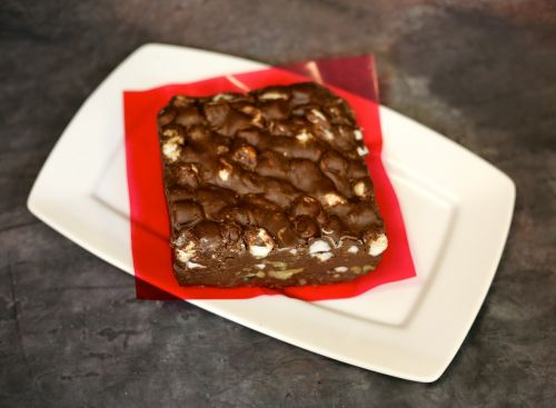 brownies cake candy