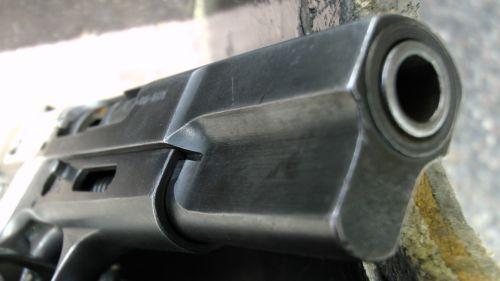 Browning Handgun Pistol Close Up