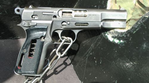 Browning Handgun Pistol Cut Away