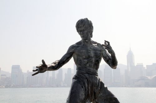 bruce lee statue monument