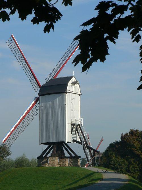 bruges mill belgium