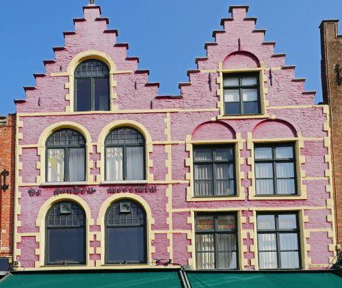 bruges gable house double gable