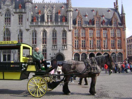 bruges horse cart