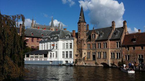 brugge belgium canals in belgium