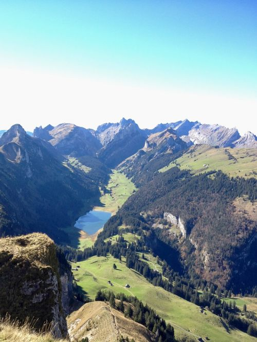 brülisau high box mountain