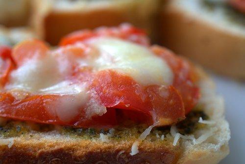 bruschetta  tomatoes  mozzarella
