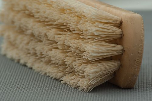 brush cleaning household