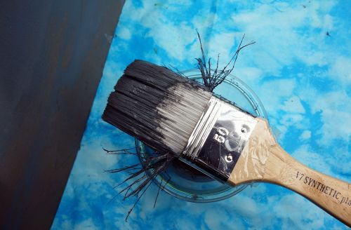 brush color painting