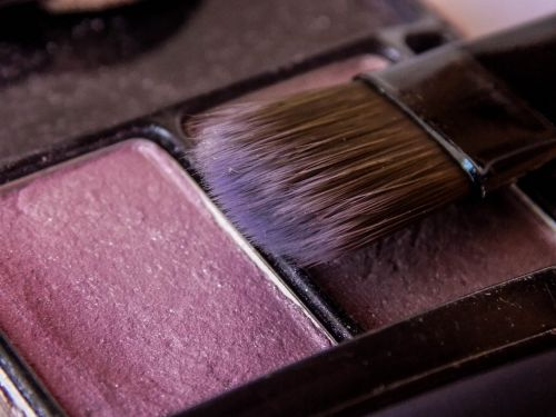 brush makeup blush