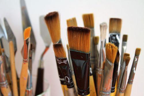 brush painter brush paint