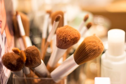 brush  make up  cosmetics