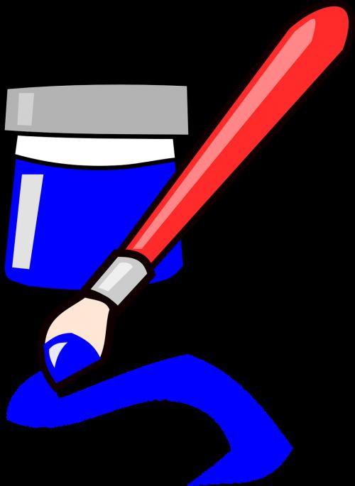 brush ink paint