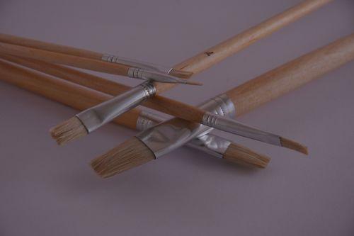 brushes fine arts artists