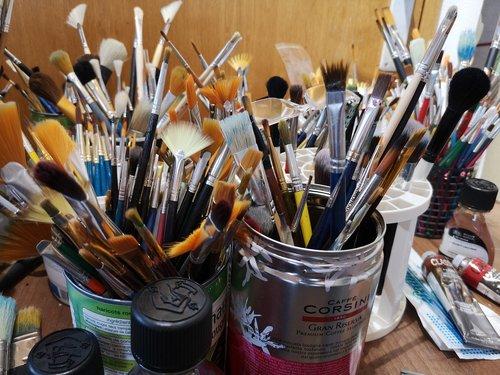 brushes for everyone  oils and mediums  liquin original