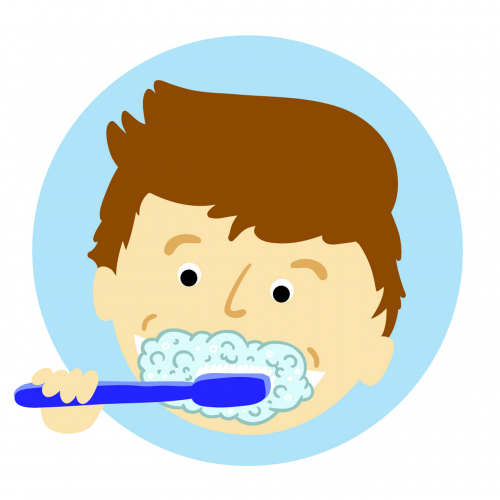brushing teeth tooth dental