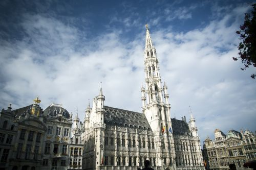 brussels grande place europe