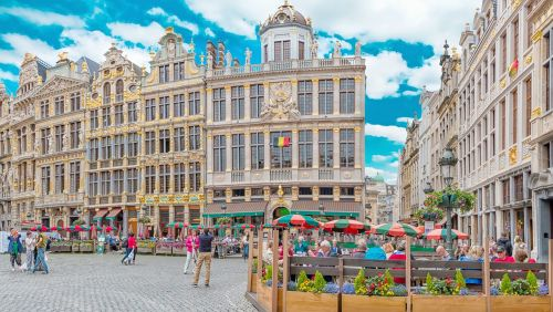 brussels grote markt brussels belgium