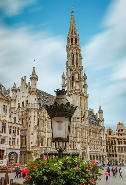 brussels square of grote markt