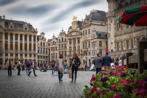 brussels grote markt belgium