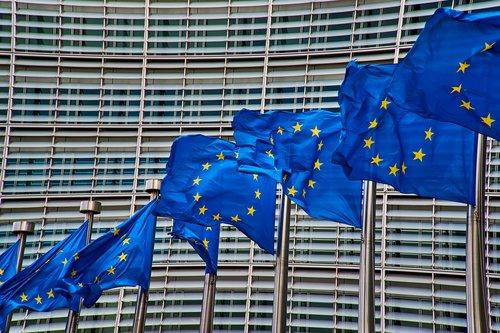 brussels  europe  flag