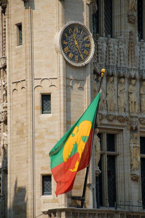 brussels belgium flag