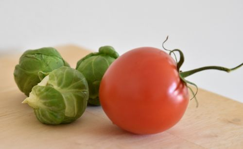 brussels sprout tomato healthy