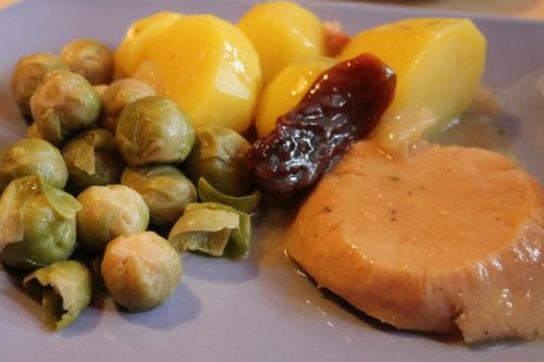 brussels sprouts potatoes turkey