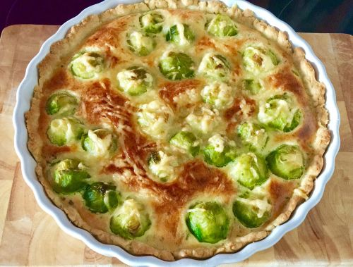 brussels sprouts casserole shortcrust pastry