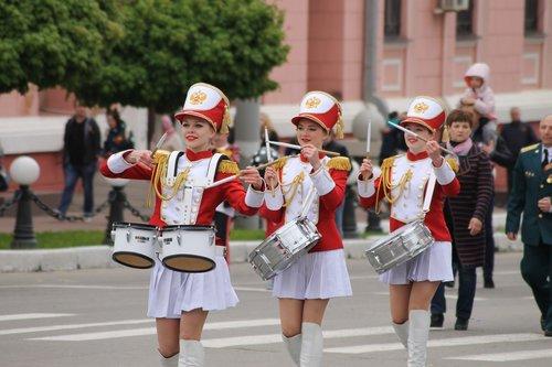 bryansk  victory day  may 9