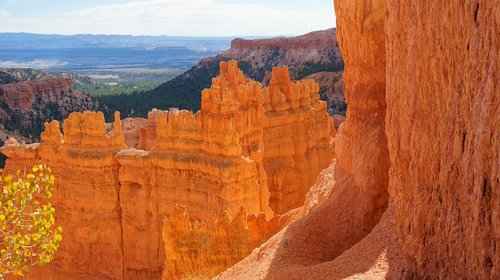 bryce canyon  sandstone  utah