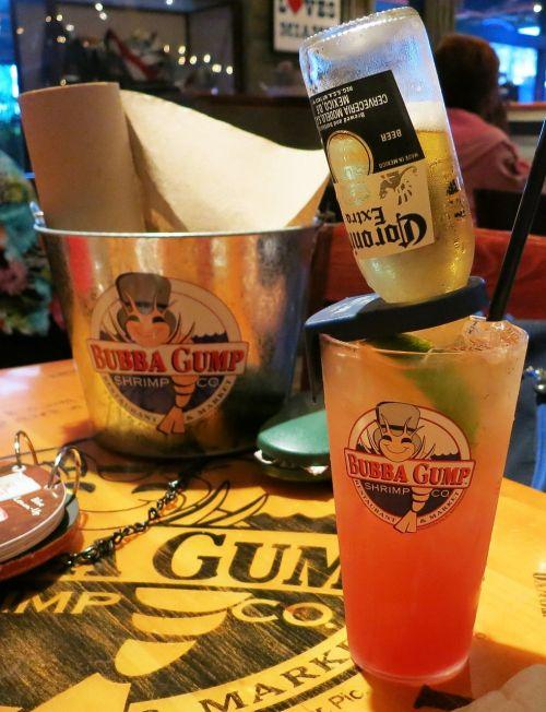 bubba gump restaurant cocktail