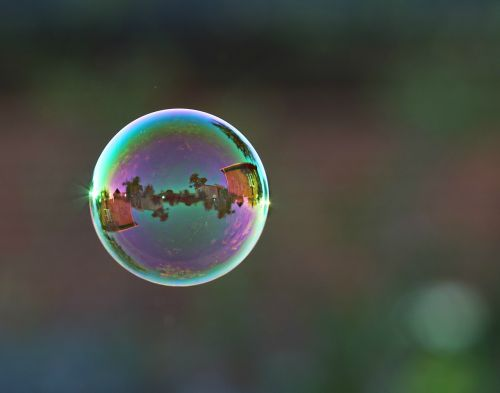 bubble ball fly