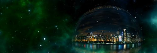 bubble city universe