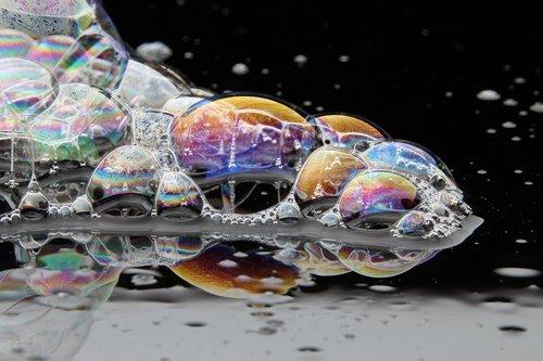 bubble  color  iridescent
