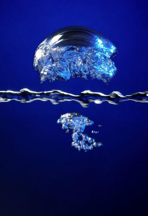 bubble air oxygen