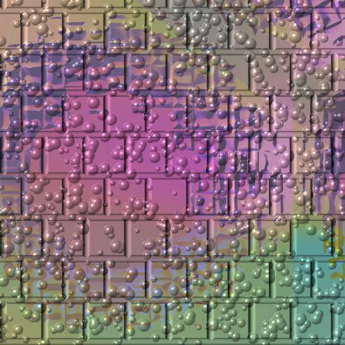 Bubble Brick Wall