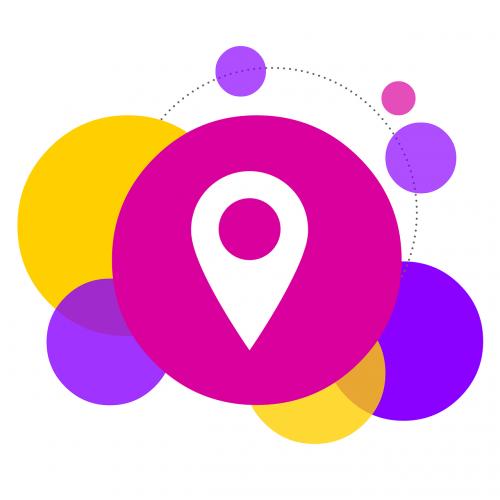 bubbles locate location