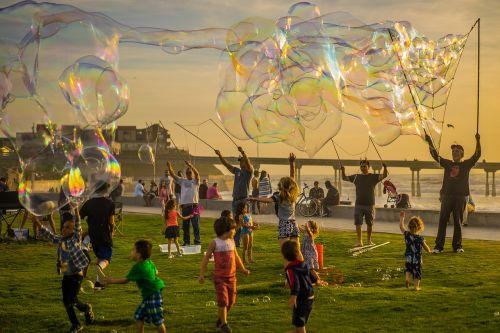 bubbles party kids
