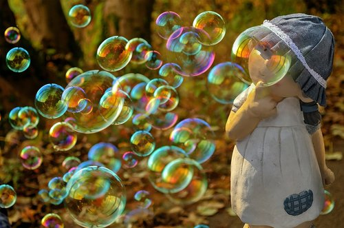 bubbles  soap bubbles  round