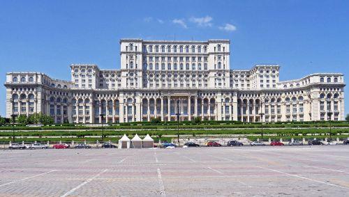 bucharest parliament the palace bombastic