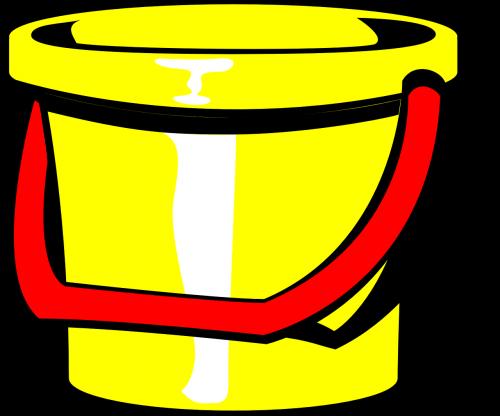 buck pail yellow
