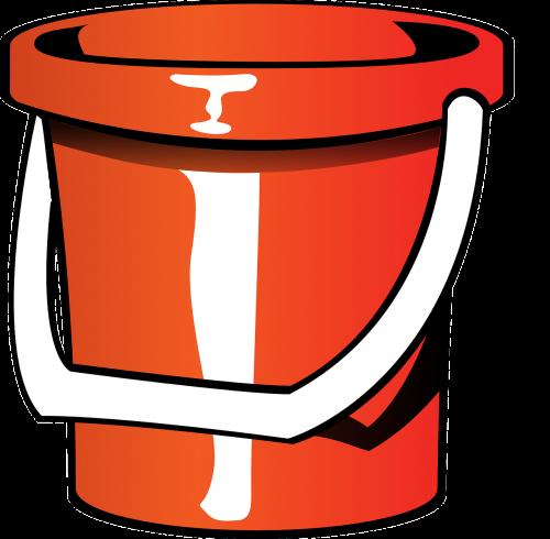 bucket pail bin