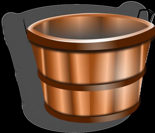 bucket water tub